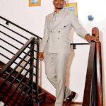 Shepherd Bushiri Walking Down Stairs