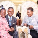 Shepherd Bushiri With Daughter Raphaella And Wife